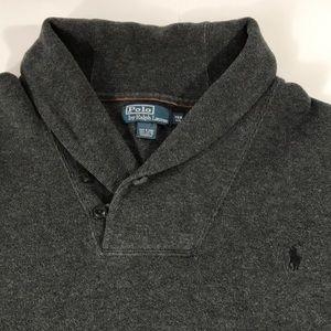 Polo Ralph Lauren Shawl Sweater Men's 3XB Patches